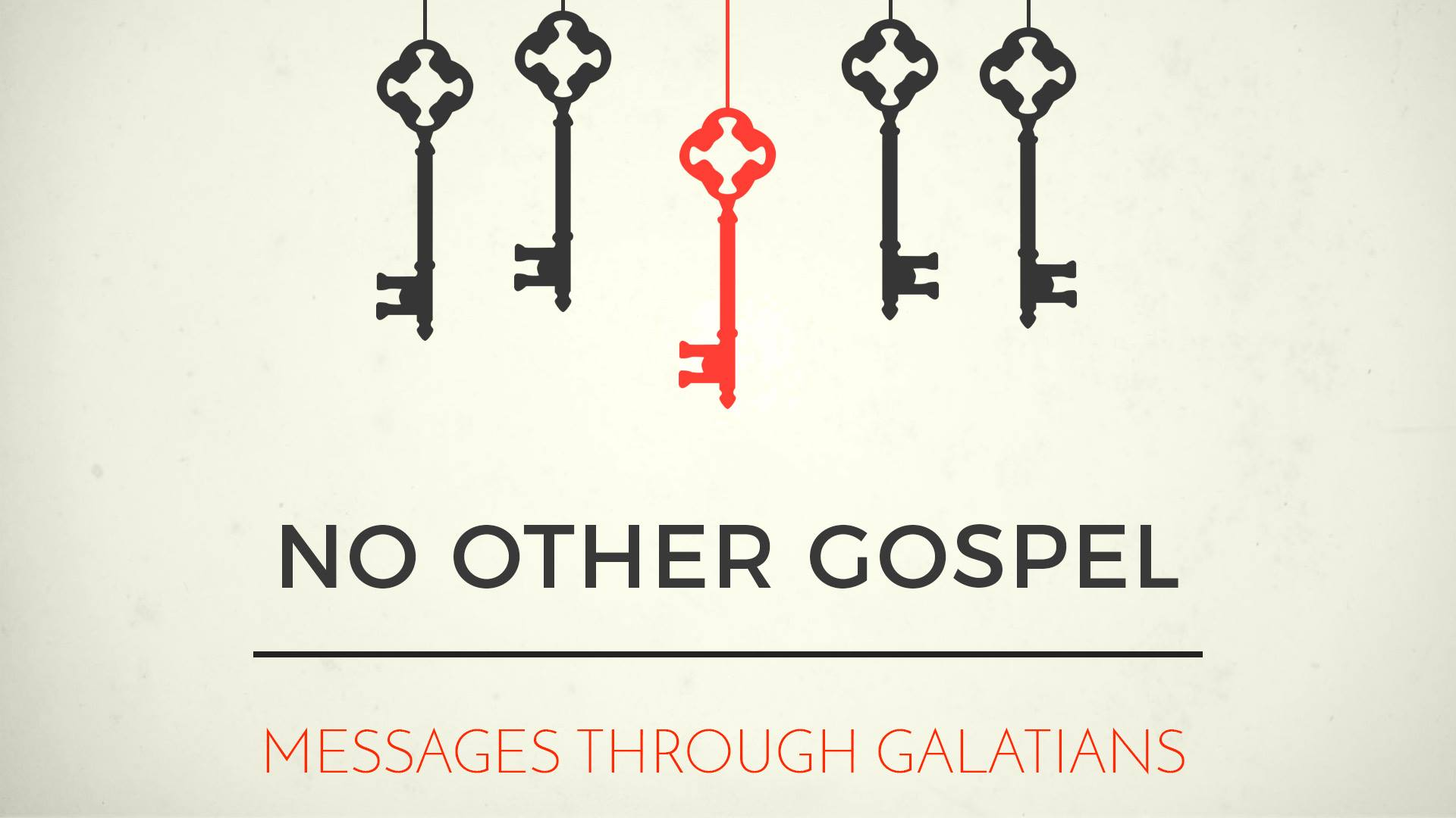 NO OTHER GOSPEL - Free for love