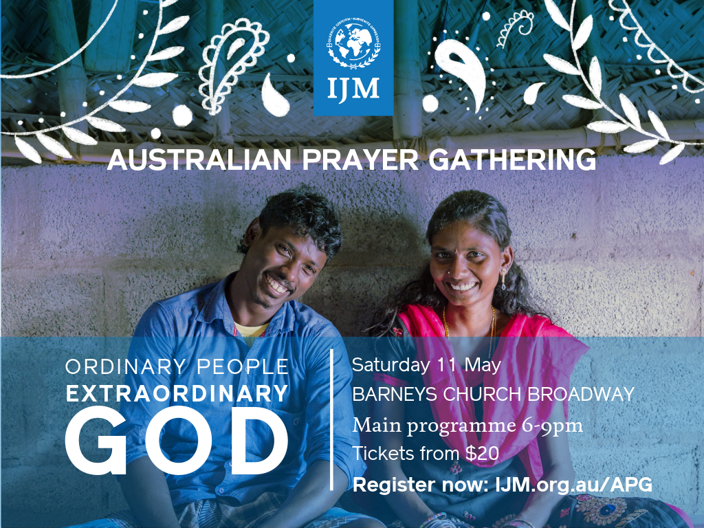 IJM Prayer Gathering
