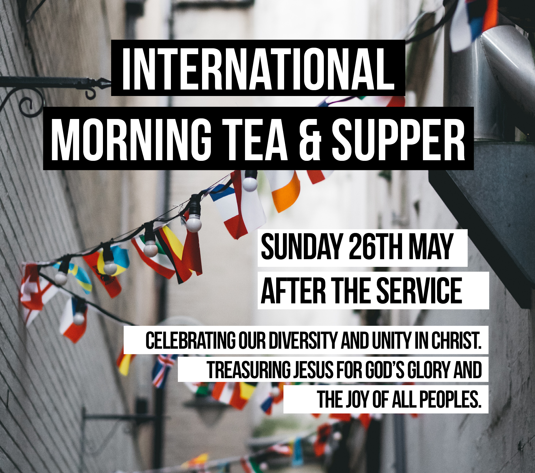 International Morning Tea & Supper