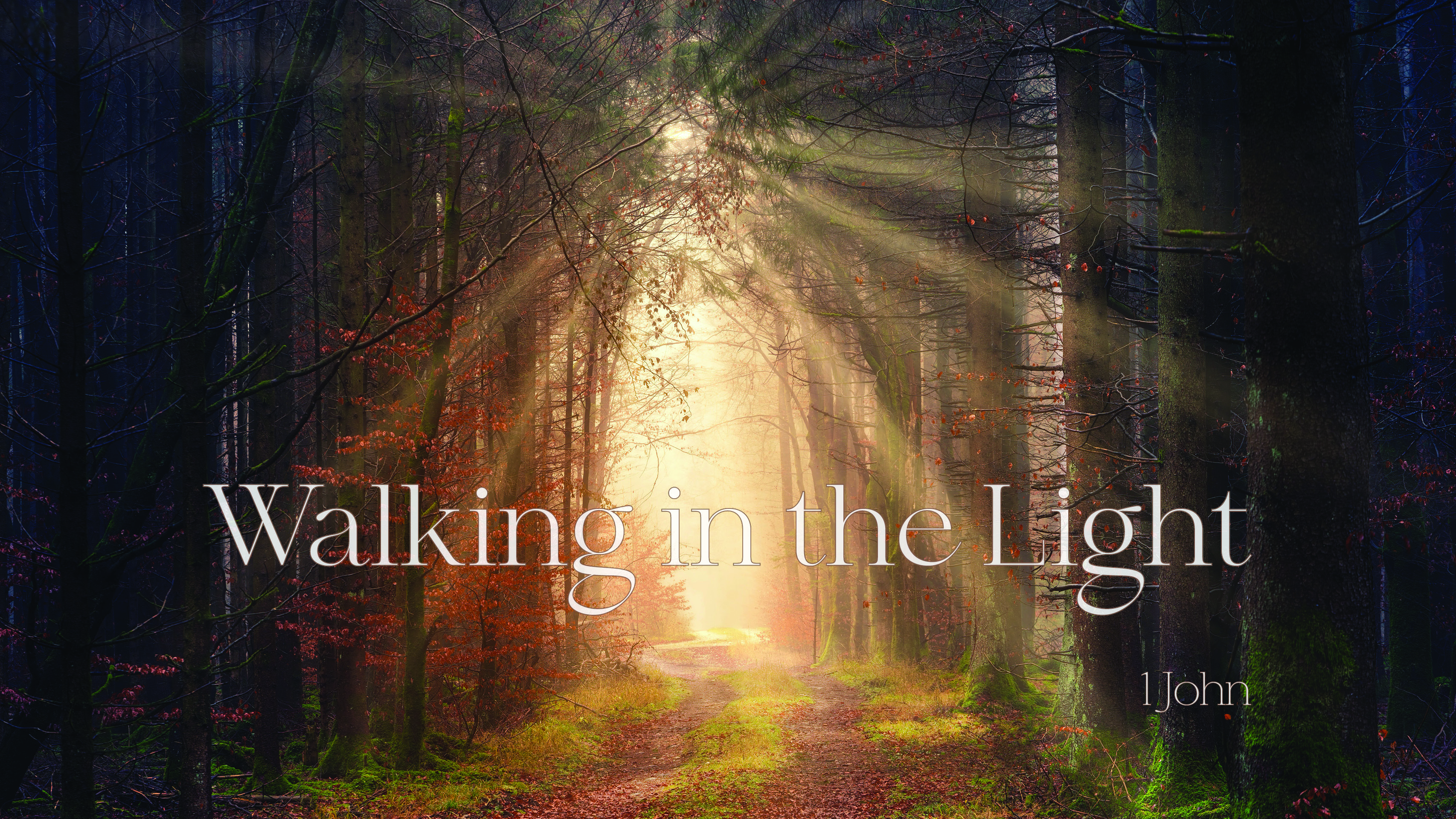 Walking in the Light - The Walk of a Christian